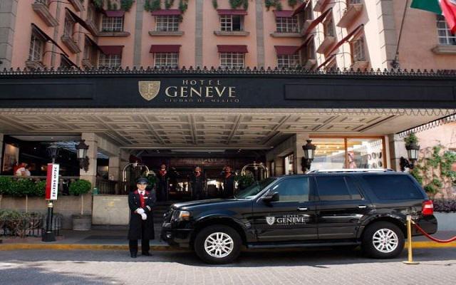 Hotel Geneve, Entrada