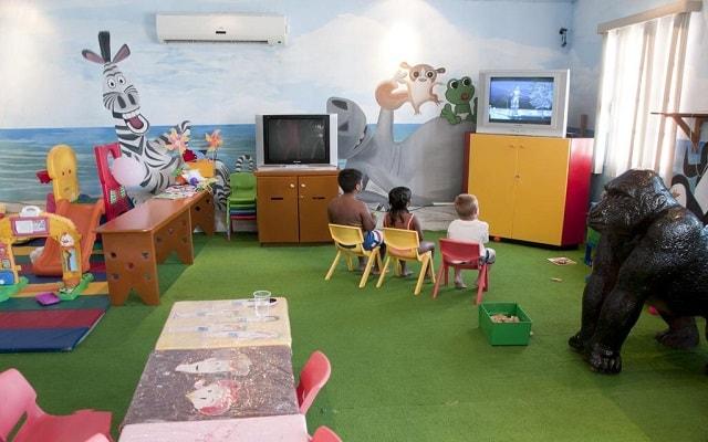 Hotel GR Caribe By Solaris Deluxe All Inclusive Resort, espacios preparados para que los niños se entretengan