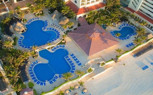 Hotel GR Solaris Cancún, vista aérea
