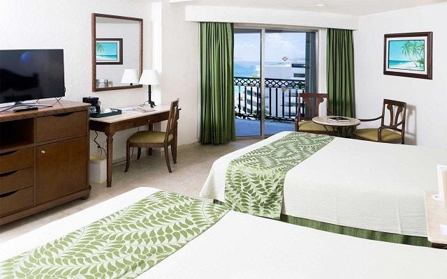 Hotel GR Solaris Cancún, amplias y luminosas habitaciones