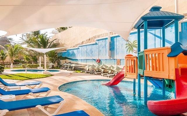 Hotel GR Solaris Cancún, espacios para que los pequeños se diviertan