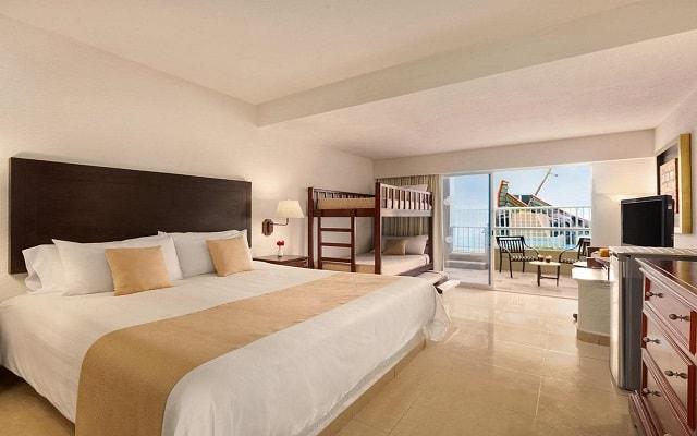 Hotel Gran Caribe Resort and Spa, amplias y luminosas habitaciones