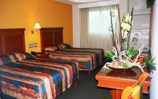 Hotel Gran Vía, habitaciones bien equipadas
