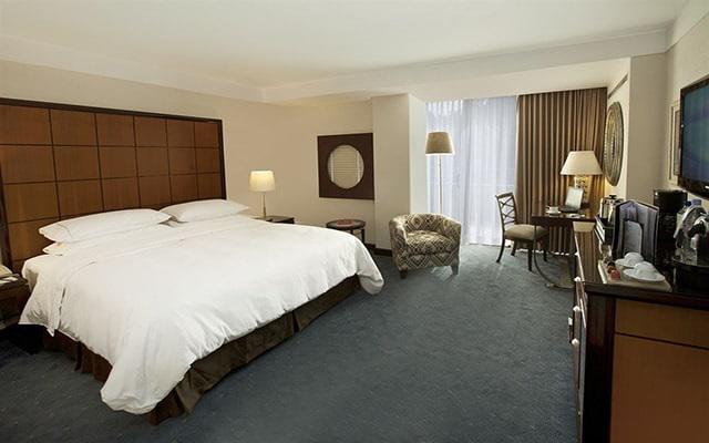 Hotel Grand Fiesta Americana Chapultepec, habitaciones bien equipadas