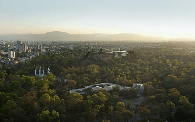 Hotel Grand Fiesta Americana Chapultepec, hermosa vista del Parque de Chapultepec