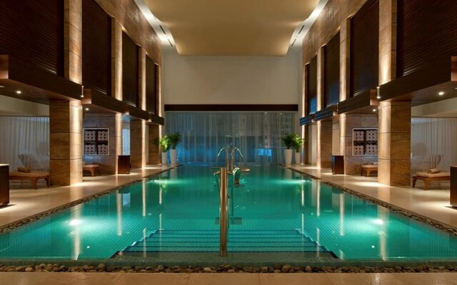 Hotel Grand Fiesta Americana Coral Beach Cancún, disfruta de la alberca en el spa