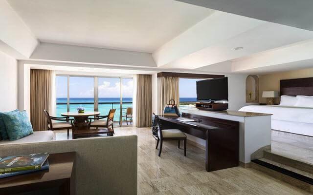 Hotel Grand Fiesta Americana Coral Beach Cancún, habitaciones bien equipadas