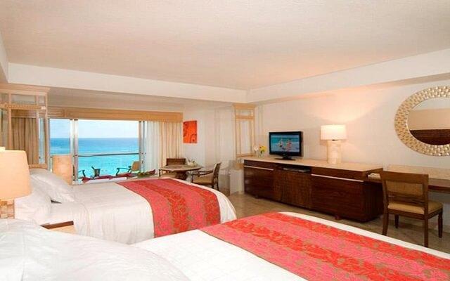 Hotel Grand Fiesta Americana Coral Beach Cancún, amplias y luminosas habitaciones