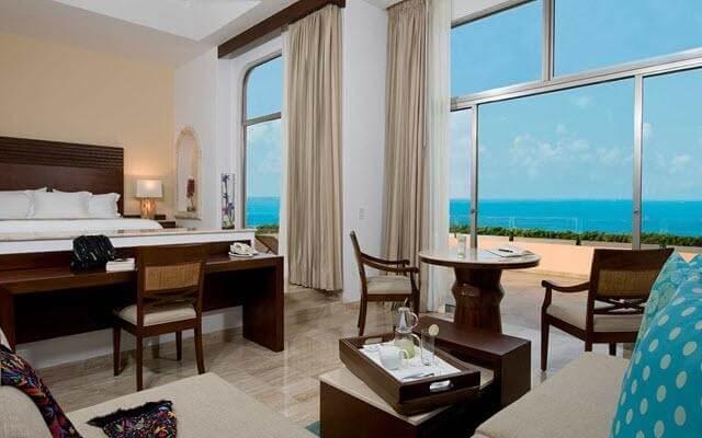 Hotel Grand Fiesta Americana Coral Beach Cancún, hermosas vistas del mar