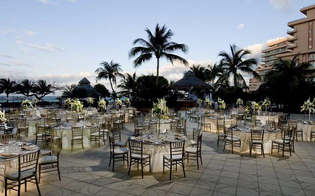 Hotel Grand Fiesta Americana Coral Beach Cancún, facilidades nupciales