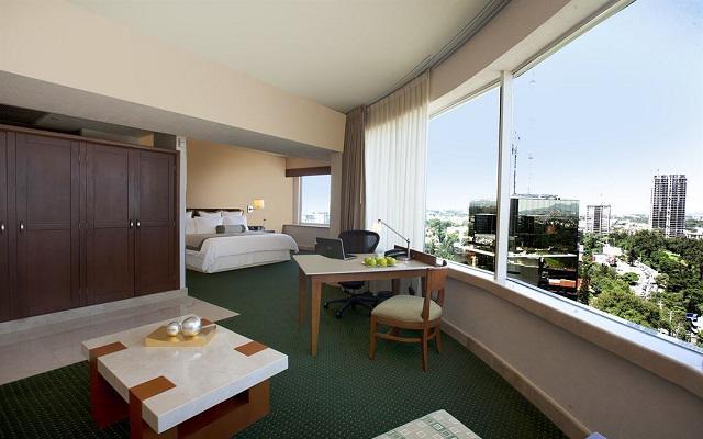 Hotel Grand Fiesta Americana Guadalajara Country Club, habitaciones con todas las amenidades