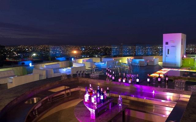 Hotel Grand Fiesta Americana Guadalajara Country Club, hermosa vista nocturna