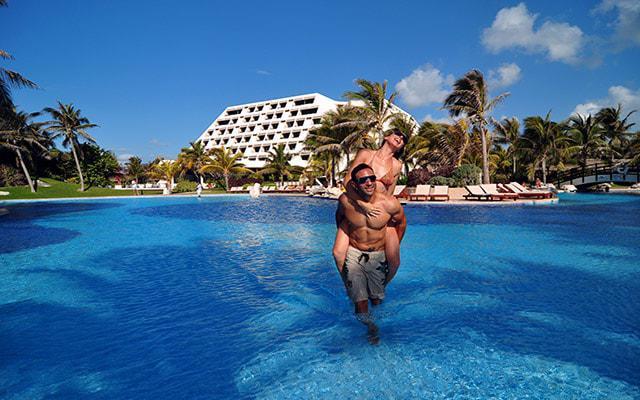 Hotel Grand Oasis Cancún disfruta del clima