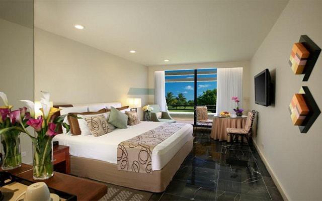 Hotel Grand Oasis Cancún algunas habitaciones tienen vista al jardín