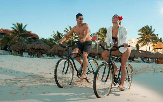 Hotel Grand Oasis Tulum, pasea en bicicleta por el pueblo