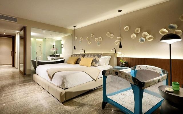 Hotel Grand Palladium Costa Mujeres Resort and Spa, amplias y luminosas habitaciones