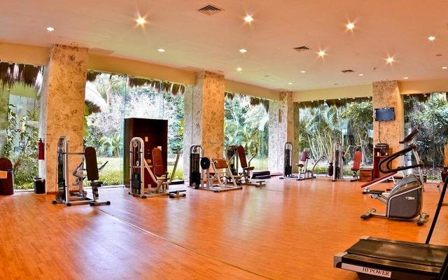 Hotel Grand Palladium White Sand Resort and Spa, gimnasio