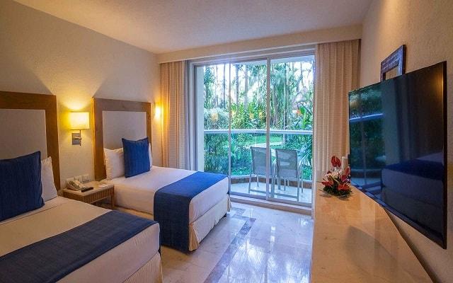 Hotel Grand Park Royal Cozumel All Inclusive, amplias y luminosas habitaciones