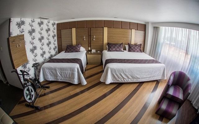 Hotel Grand Prix, equipadas habitaciones