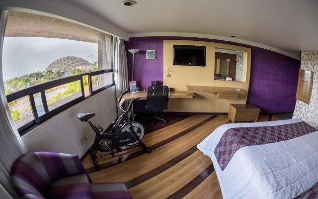 Hotel Grand Prix, espacios diseñados para tu descanso
