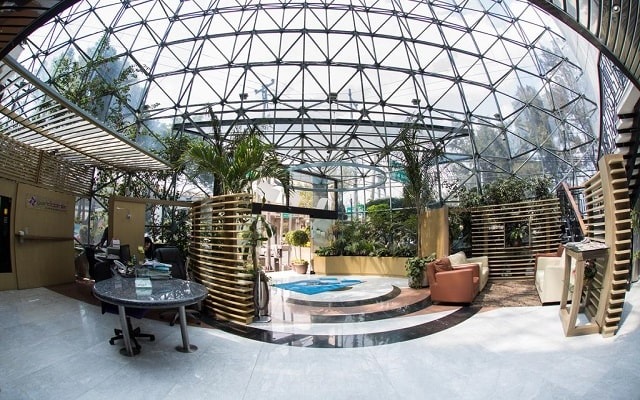 Hotel Grand Prix, lobby