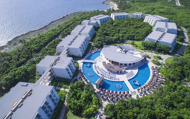 Hotel Grand Sirenis Riviera Maya, acceso directo a la playa