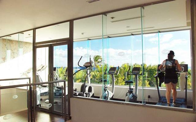 Hotel Grand Sirenis Riviera Maya, gimnasio para uso exclusivo