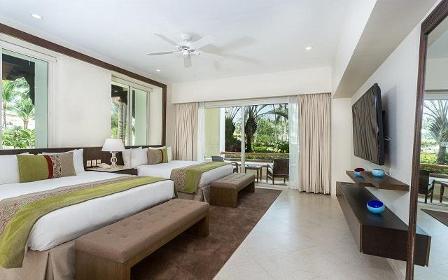 Hotel Grand Velas Riviera Nayarit Luxury All Inclusive, amplias y luminosas habitaciones