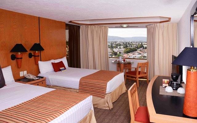 Hotel Guadalajara Plaza Ejecutivo López Mateos, habitaciones bien equipadas