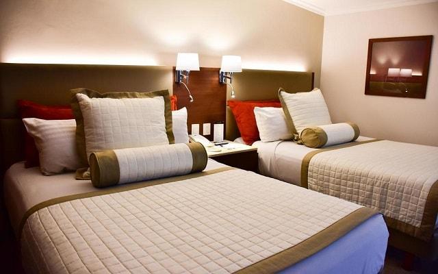 Hotel Guadalajara Plaza Ejecutivo López Mateos, habitaciones con todas las amenidades