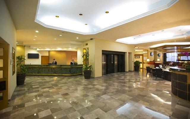 Hotel Guadalajara Plaza Ejecutivo López Mateos, atención personalizada desde el inicio de tu estancia