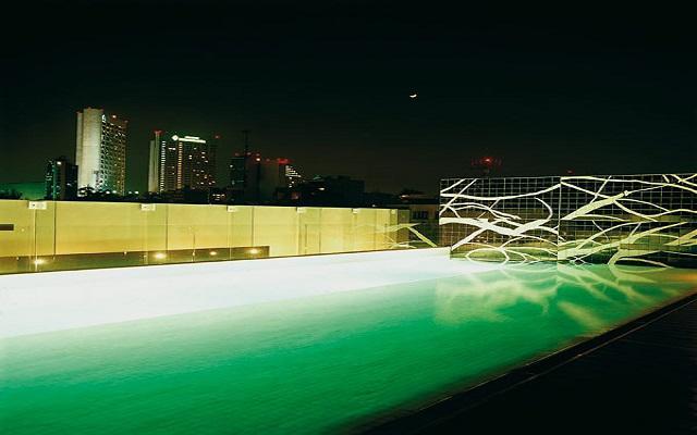 Hotel Habita, disfruta de su alberca al aire libre