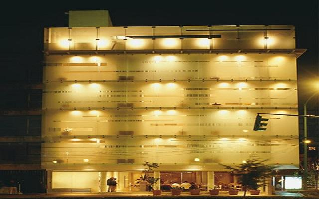 Hotel Habita, hermosa vista nocturna