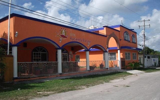 Hotel Hacienda Bacalar en Bacalar