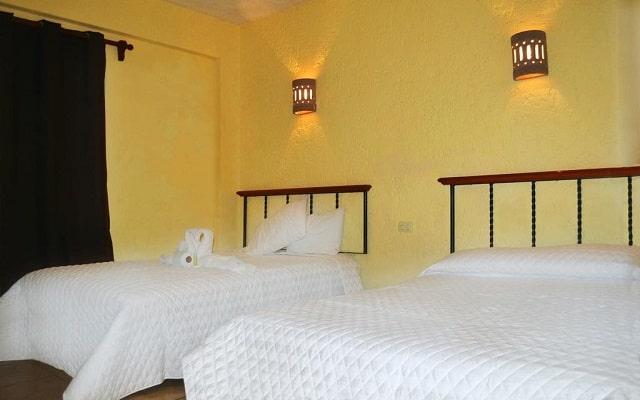 Hotel Hacienda Cancún, acogedoras habitaciones