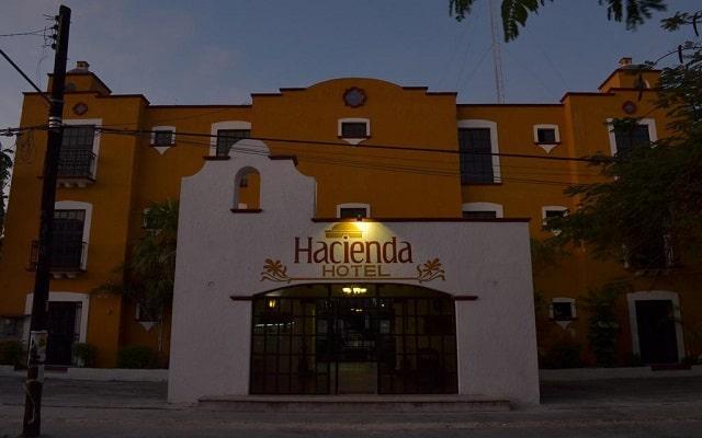 Hotel Hacienda Cancún, buena ubicación