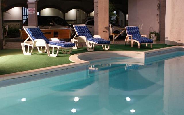 Hotel Hacienda de Castilla, disfruta de su alberca al aire libre