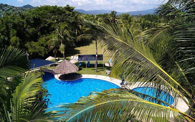 Hotel Hacienda de Melaque en Melaque