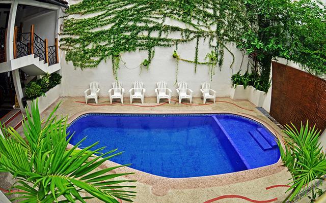Hacienda de Vallarta Centro, disfruta de su alberca al aire libre