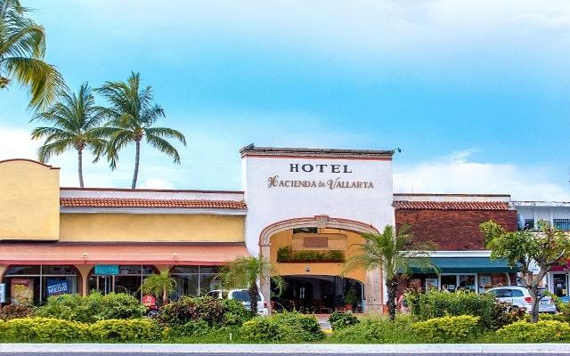 Hotel Hacienda de Vallarta Las Glorias, buena ubicación