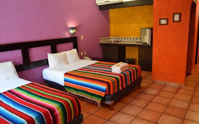 Hotel Hacienda María Bonita, amplias y luminosas habitaciones