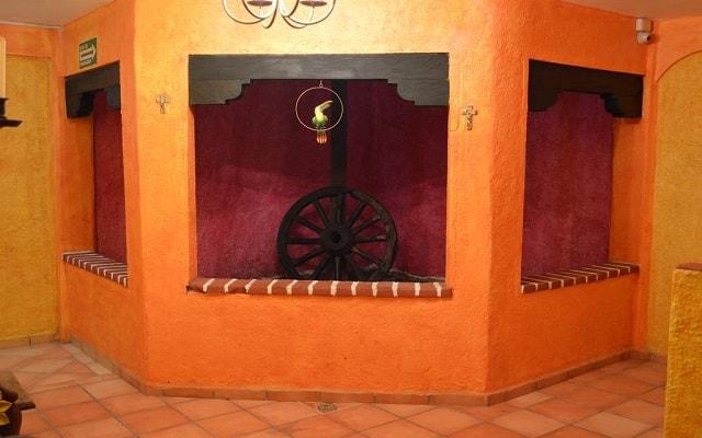 Hotel Hacienda María Bonita, ambientes de diseño