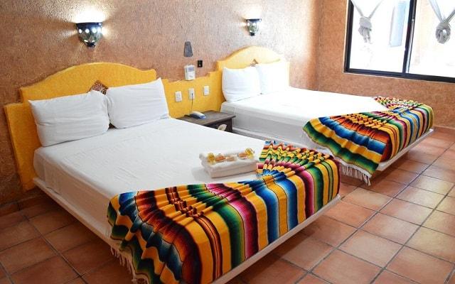Hotel Hacienda María Bonita, habitaciones bien equipadas
