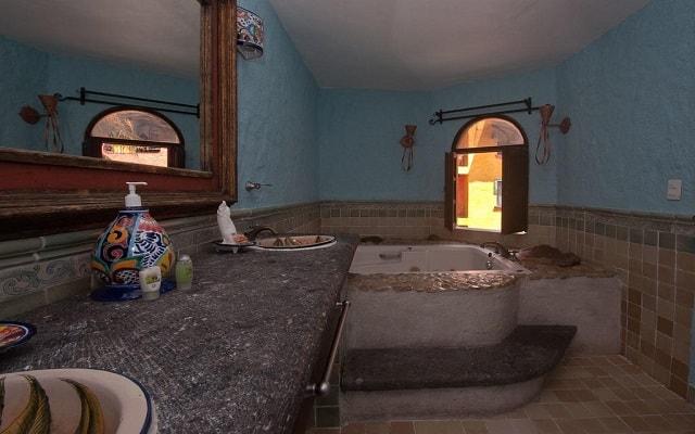 Hotel Hacienda María Bonita, habitaciones con todas las amenidades