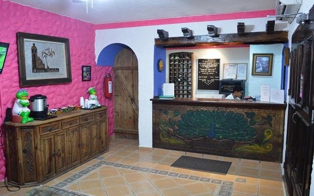 Hotel Hacienda María Bonita, atención personalizada desde el inicio de tu estancia