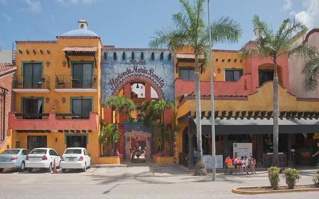 Hotel Hacienda María Bonita, buena ubicación