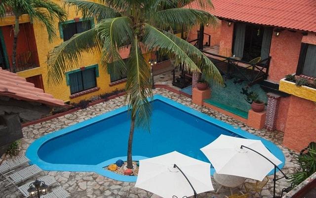 Hotel Hacienda María Bonita, hermosa vista aérea