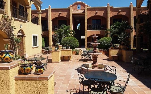 Hotel Hacienda Suites, sitios encantadores
