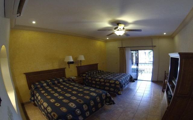 Hotel Hacienda Suites, acogedoras habitaciones
