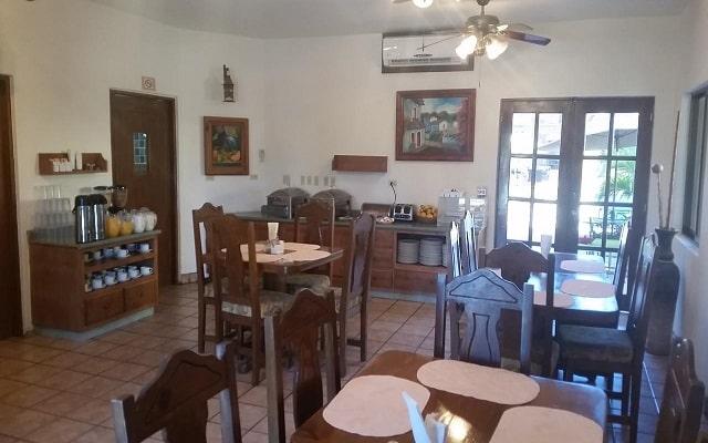 Hotel Hacienda Suites, buena gastronomía